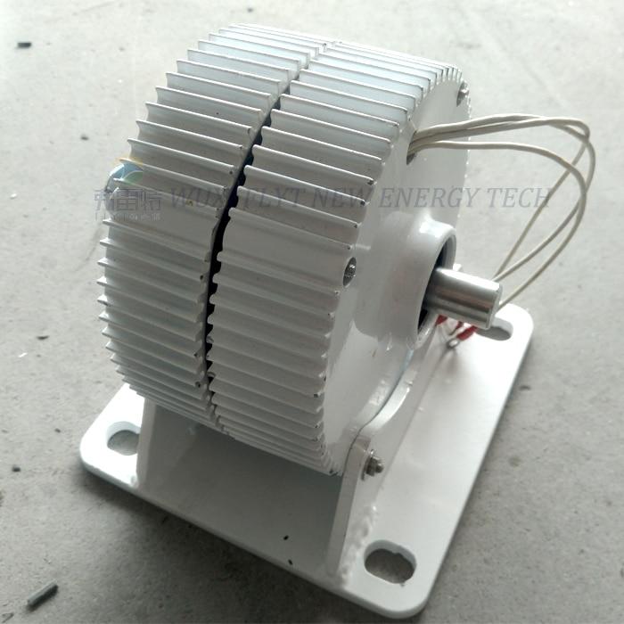 Alternador de imán permanente de baja velocidad de 400 w/500 w/600 w 12 v/24 v/48 v CA
