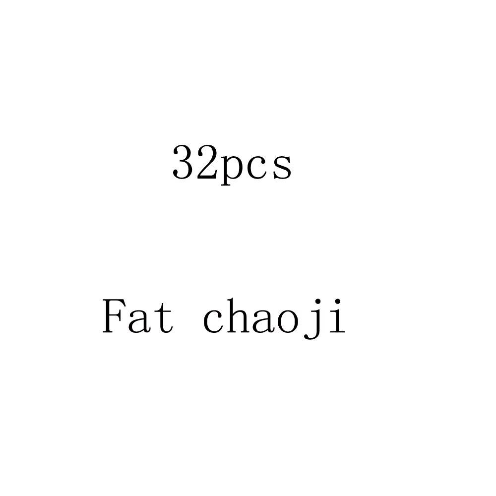 Супер fat 32 шт./лот Стикеры с мультяшным рисунком для ноутбука холодильник скейтборд Халк Железный человек