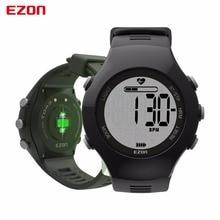 EZON T043 Smart watches Optical Sensor Heart Rate Monitor Fitness Digital Watch Pedometer Calorie Counter Men Women Sports Watch