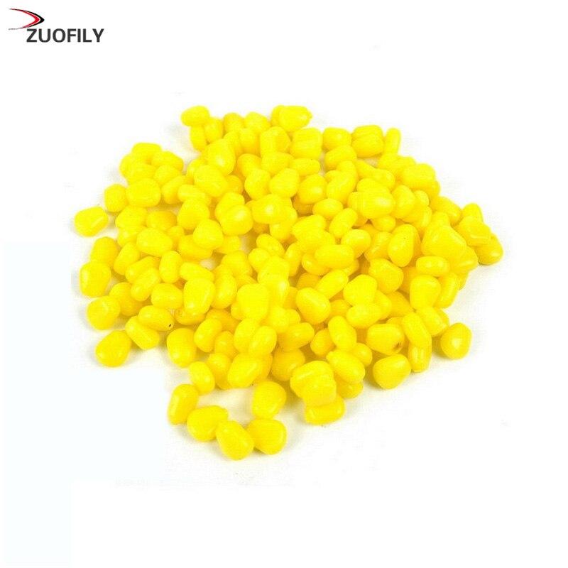Высококачественные мягкие приманки 50 шт./лот, приманки для ловли кукурузного карпа с запахом искусственной приманки, зерно кукурузы
