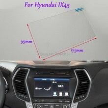 Tommia estilo de coche para pantalla de navegación GPS protector de vidrio película pegatina DVD película protectora para Hyundai IX45 accesorios de coche