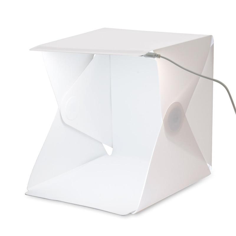 40*40*40 Portable Lightbox Mini softbox LED Photo Studio Folding Light box Room Photography Backdrop Light Box Softbox Tent Kit