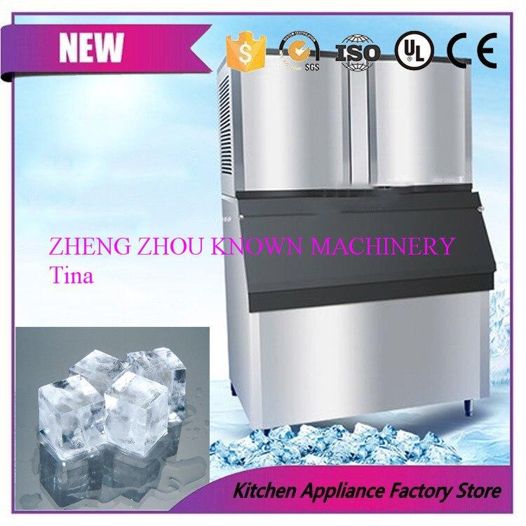 Máquina de gelo, máquina de fazer gelo, tipo pequeno fabricante de cubo de gelo, fabricante de gelo