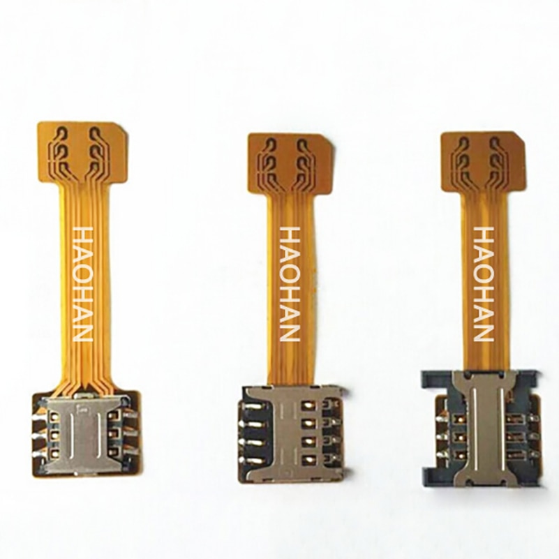 Гибридный двойной адаптер Micro SD для сим-карты Android Extender 2 Nano Micro SIM адаптер для XIAOMI REDMI NOTE 3 4 3s PRO Max