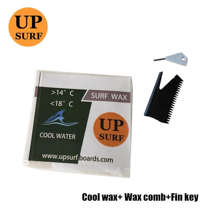 Peine de cera surf cire + llave de aleta + fresco/cálido/Base/frío/agua Tropical cera tabla de surf cera para deportes de surf al aire libre