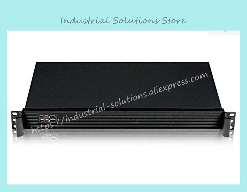 New Mini Itx 17 Ultra-Short 1U Computer Case 1U Server Firewall Computer Case