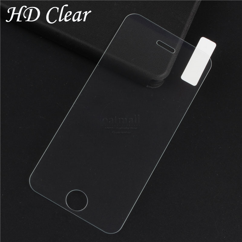 2 piezas = 1 película frontal + 1 trasera de vidrio templado para Apple iPhone 5 5S Protector de pantalla de vidrio Protector de cuerpo completo para iPhone 5S SE 9H