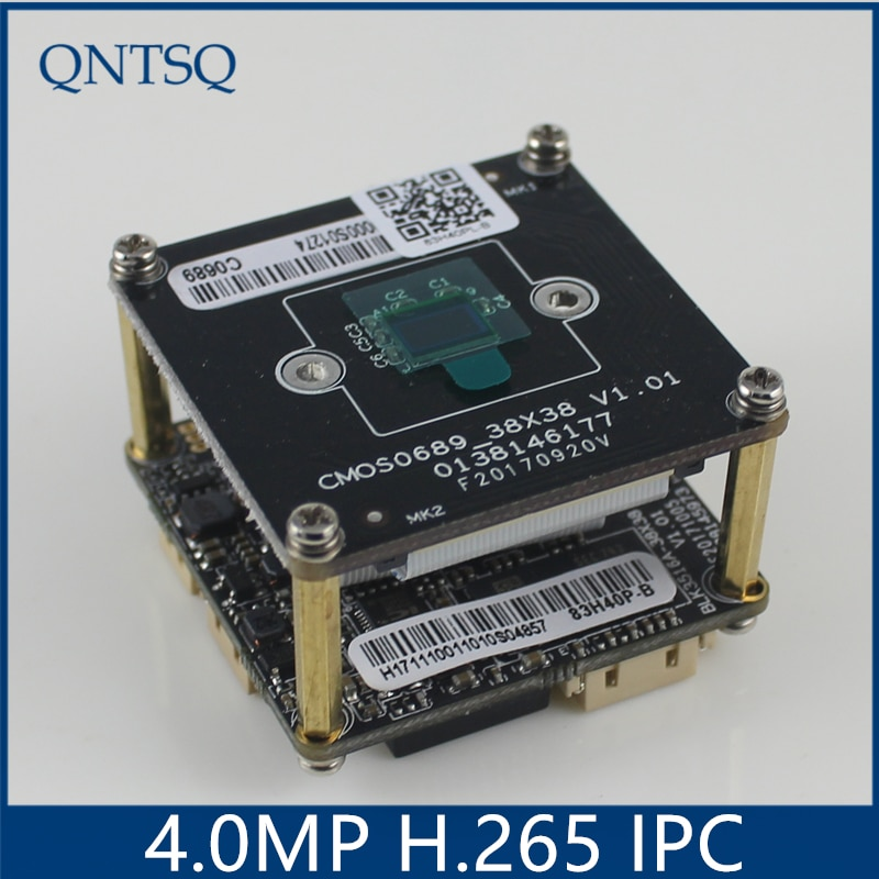 Vmeyesuper de cámara IP 4.0MP (2592*1520) H.265/H.264 cámara IP Sony OV4689 + HI3516D CMOS Módulo de cámara IP PCB Junta DWDR + ONVIF