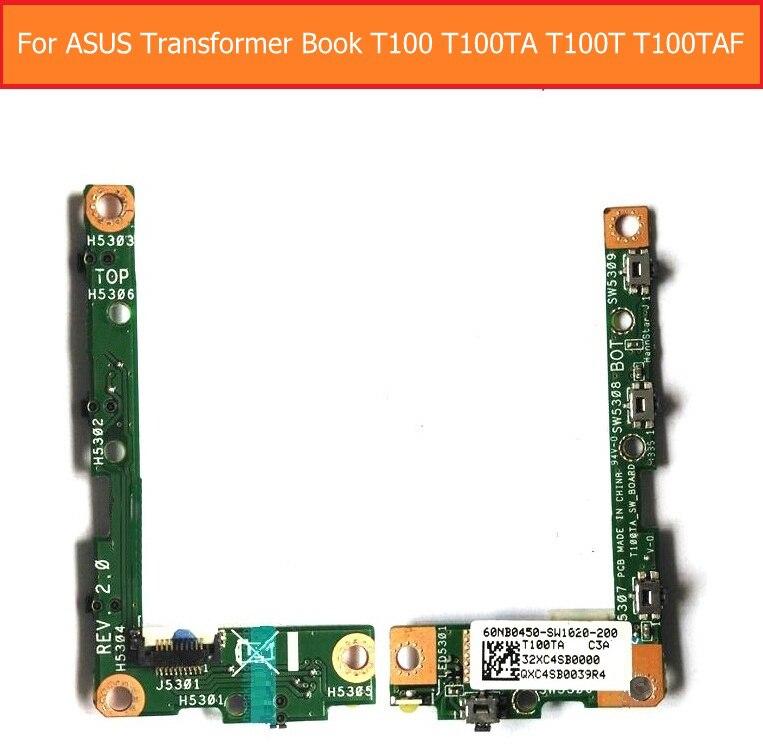 Гибкий кабель pcb для Asus Transformer Book T100 T100TA T100T T100TAF с разъемом jack port board