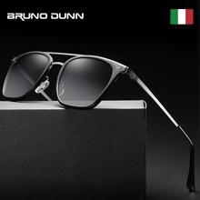 Bruno Dunn Luxury Sunglasses Men Polarized 2020 luxury Brand Designer Vintage Mirror Sun Glasses gafas Oculos De Sol Feminino St