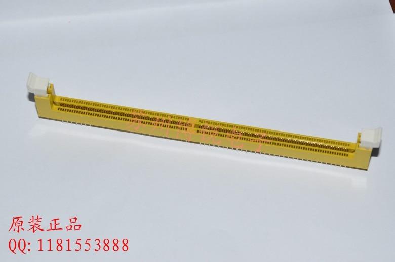 Conector do conector 2.5 v ddr1 184pin do amplificador ddr de tyco te