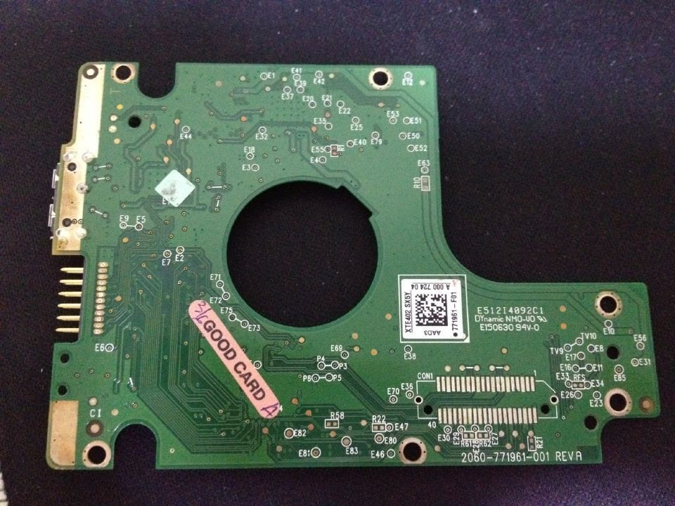 HDD PCB Логическая плата 2060 771961 001 REV A/B для 2,5-дюймового USB жесткого диска ремонт hdd Дата восстановления