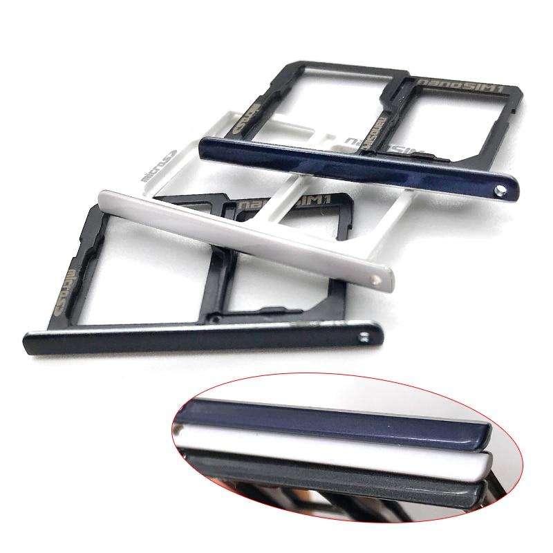 Nueva para LG X Power K220DS LS755 K450 bandeja SIM lector módulo hembra tarjeta SIM Adaptador de ranura de Reaplacement partes