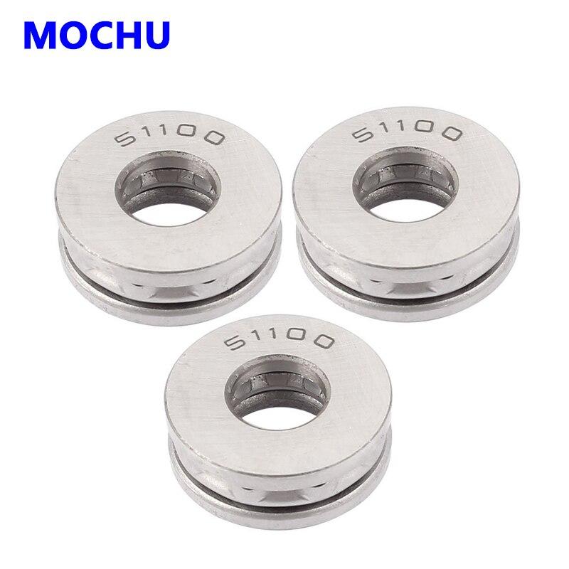 10pcs 51100 8100 10x24x9 Thrust ball bearings Axial deep groove ball bearings MOCHU Thrust  bearing