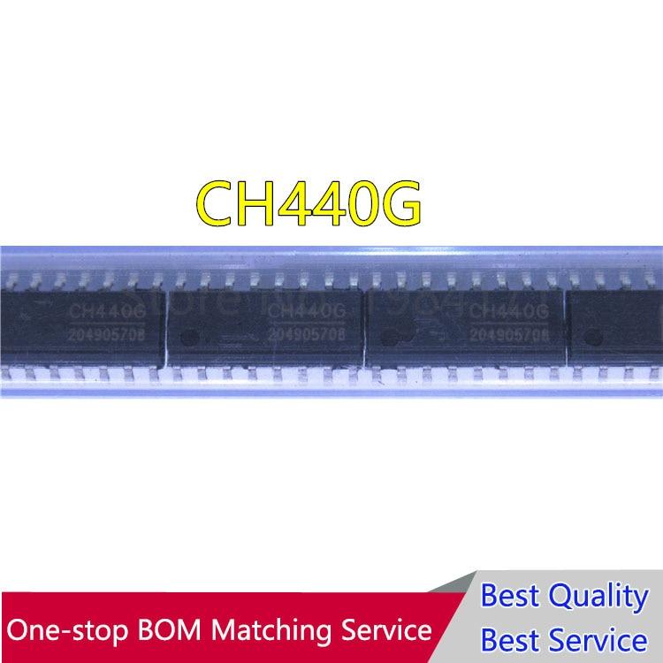 CH440G SOP16 canal solo polo doble interruptor CH440