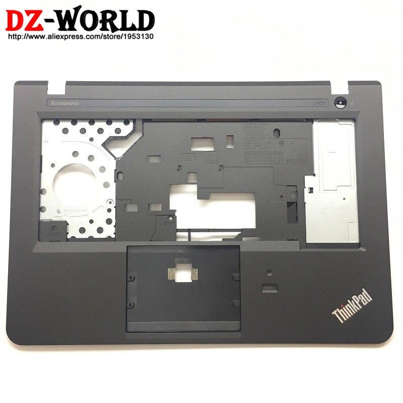 Nuevo Original para Lenovo ThinkPad E460 teclado bisel Palmrest cubierta sin Touchpad con huella dactilar agujero 01AW177