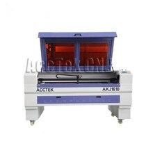 ¡Alta Precisión! 80w 100w 130w 150w CO2 máquina de grabado láser de corte 1390 láser 1610 cortador para metal, para acrílico, para madera
