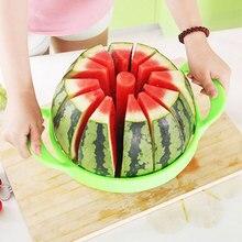 Kitchen gadgets 2020 Summer Stainless Steel Watermelon Sliced cutter knife fruit Slicer Salad Making tools kitchen accessories