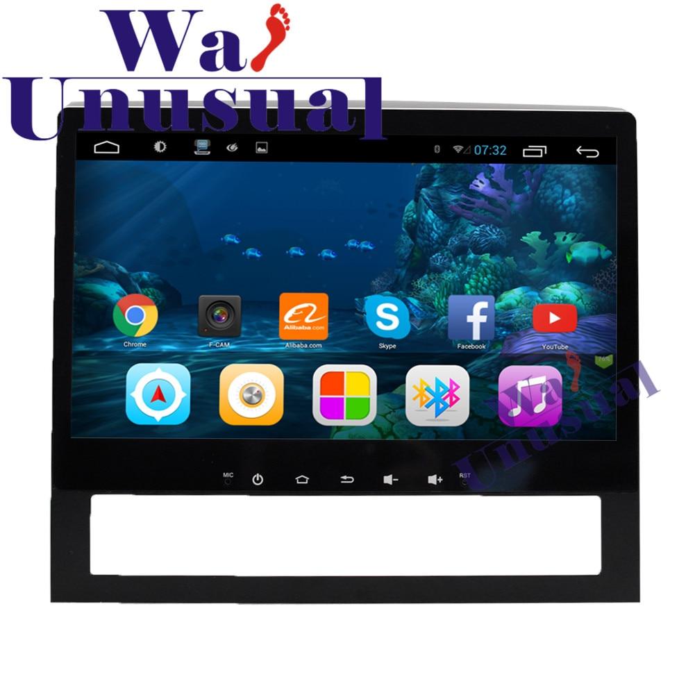 "WANUSUAL 10,1 ""Quad Core 16G Android 6,0 reproductor Multimedia para auto Toyota Land Cruiser 200 de 2016 de 2017 GPS BT WIFI 1024*600"