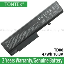 Véritable batterie TD06 pour Hp Elitebook 6930 6930p 8440p probook 6535b 6530b 6735b TD09 HSTNN-IB68