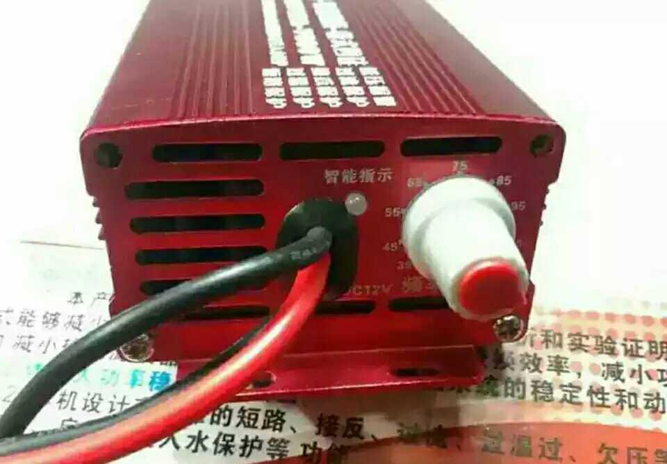 مزود طاقة طوارئ احترافي جديد عاكس 7800 مدمج موفر للطاقة