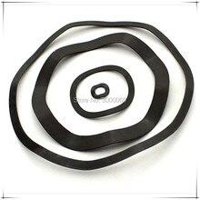 Rondelle de printemps ondulée de finition noire 12mm, 18mm *(OD) 0.3mm, lot de 1000 pièces