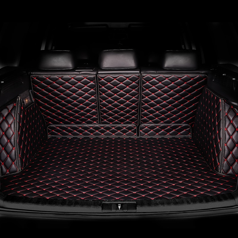 HeXinYan Custom Car Trunk Mats for Haval all models H1 H6 H8 H2 H3 H5 H9 H7 H2S H6coupe car styling auto accessories