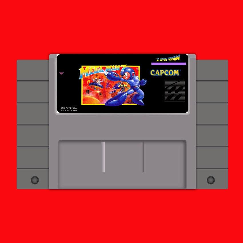 Mega Man-tarjeta de juego grande gris, 7, 16 bits, NTSC de EE....