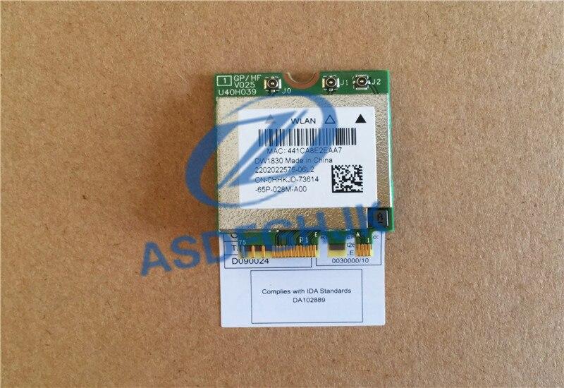 BCM943602BAED DW1830 ac NGFF 1300Mbps BT4.1 0HHKJD WiFi tarjeta de red inalámbrica mejor que BCM94352Z soporte mac os