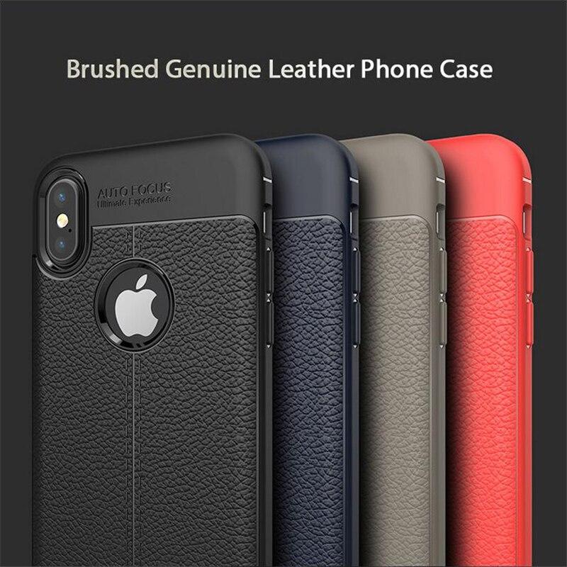 RMJ-DNA для iPhone 8 8 Plus, чехол для iphone 7, чехол для iPhone X, матовая кожа, мягкий TPU для iPhoen 6 6 s