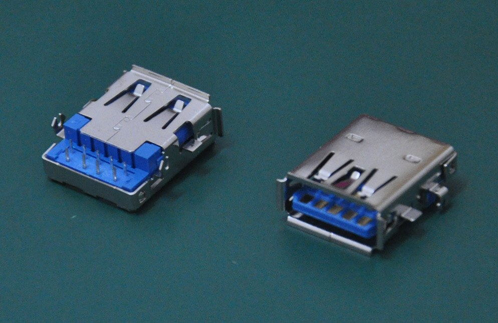 1 Uds., ajuste de enchufe USB 3,0 para Asus G73JH G73JW G73S G73SW, serie portátil, placa base, conector usb