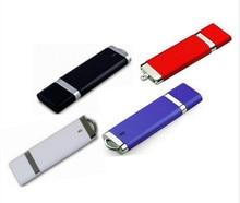 Vente chaude rectangle USB lecteur Flash entreprise/utilisation 8 gb-128 gb USB 2.0 Flash Drive clé USB u disque cadeau/souvenir/vente en gros