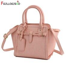 FGJLLOGJGSO Hot Sale Fashion Women Leather Handbag 2019 Female Shoulder Bags crossbody Lady Shopping Tote Soft Messenger Bag Sac