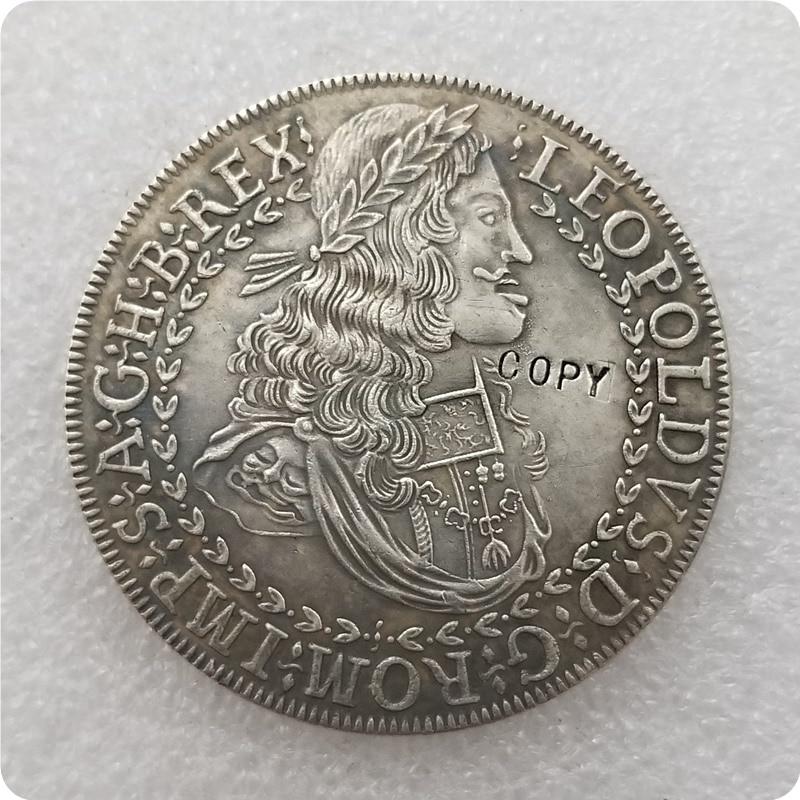Austria-Habsburgo 2 Thaler - Leopold me Hall copia moneda