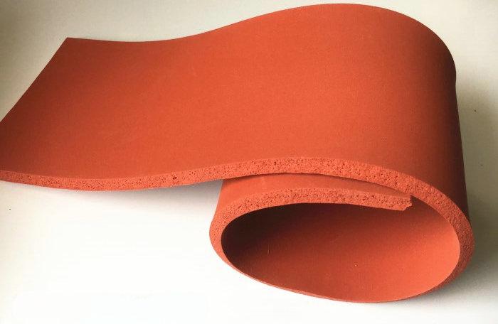 مخصص سيليكون رغوة بلاطة شريحة لوح من الألمونيوم مجلس ل الحرارة آلة الصحافة الحرارة غطاء عازل/ملاءة عازلة 600x800x8 ملليمتر الأحمر