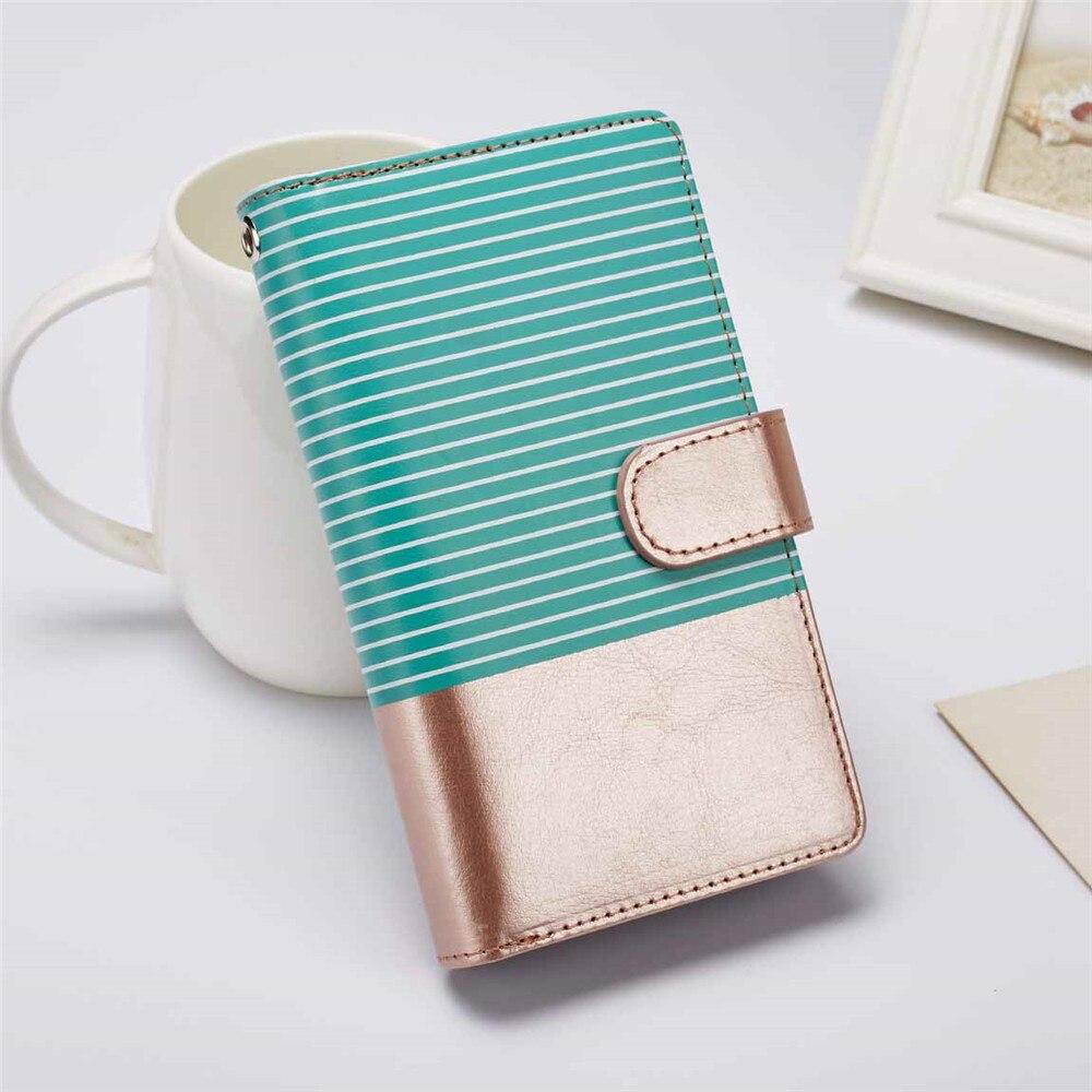 Listras de luxo caso carteira de couro do plutônio para o iphone 11 pro 5S 6s 7 8 plus x xr xs max se 2020 ímã telefone capa