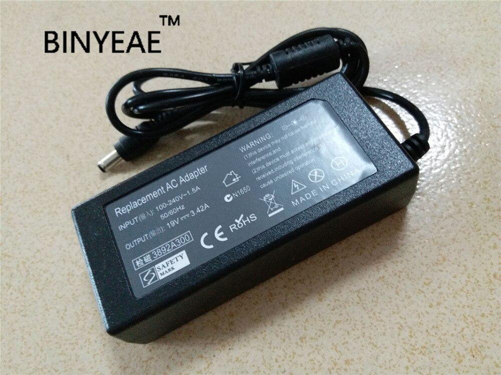 Cargador de batería adaptador de CA Universal 19 V 3.42A 65 W para Asus EB1501P-B016E F6E U31F W3000V envío gratis