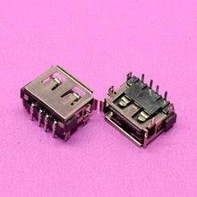 2 adet Dizüstü Bilgisayar 2.0 USB jack konnektörü Bağlantı Noktası USB soket Toshiba M805D C660 C660D Emachines Acer HP Lenovo Thinkpad L450 L450D