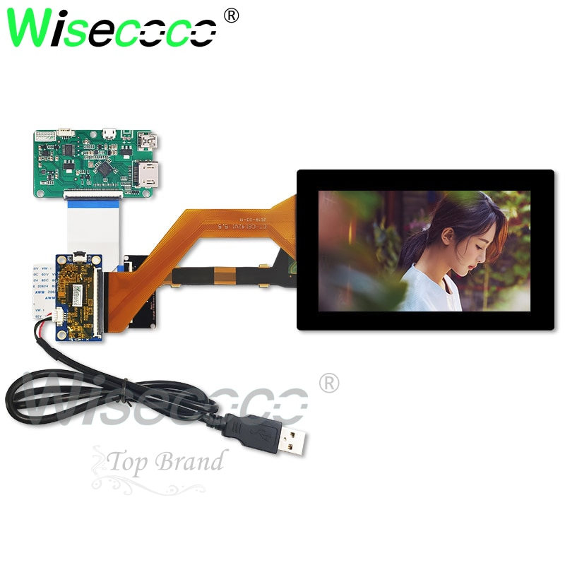 5 5 inch 2k lcd module lcd screen display and hdmi mipi driver board replacement for wanhao duplicator 7 3d printer vr glass 2560*1440 5.5 inch 2K lcd screen with capactive touch panel HDMI MIPI usb control board