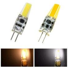 Usine directement G4 LED ampoule 12 V AC DC Lampada lampe à LED G4 lumière 1505 COB puce lumières remplacer 30 W halogène G4 spot