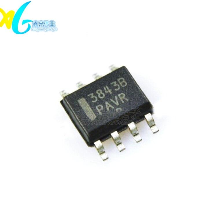 50 unids/lote 3843B UC3843B UC3843BD1013TR SOP-8 nuevo chip de potencia