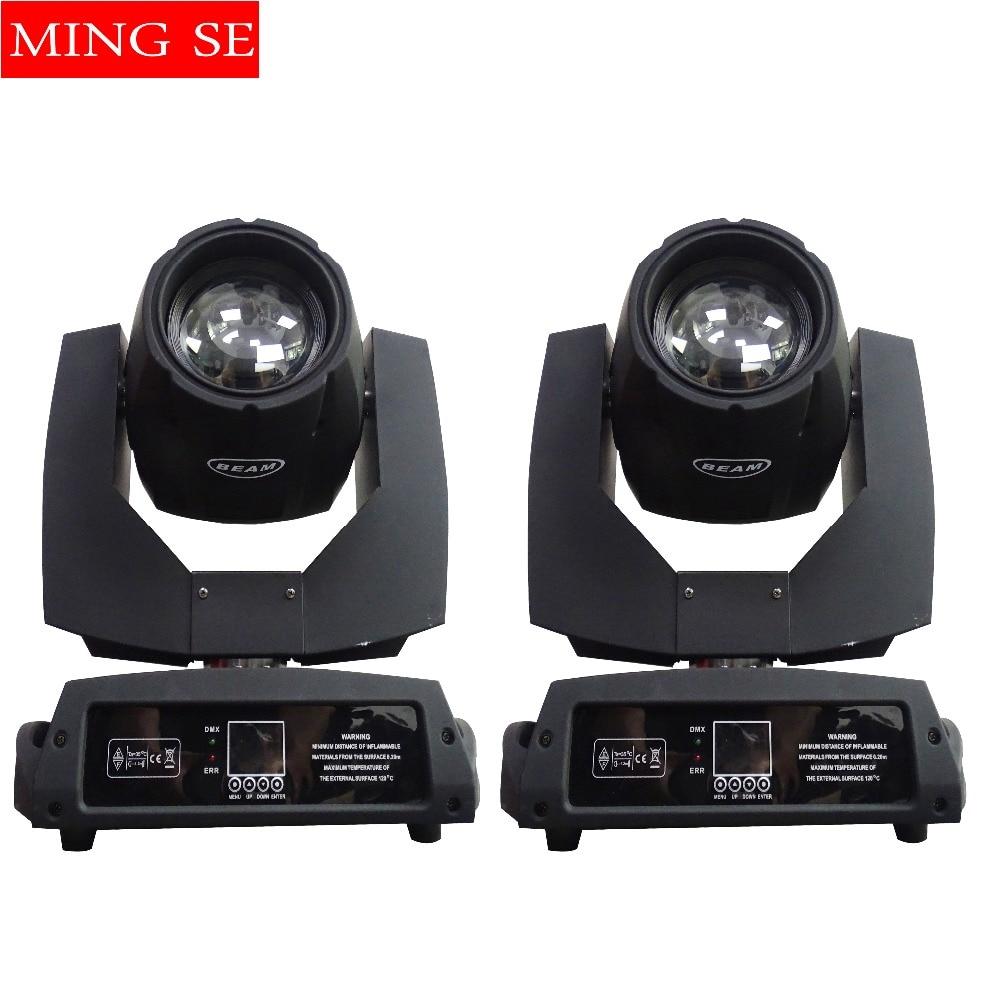 2 قطعة 230w 7r شعاع ضوء DMX512 مراقبة نقل رئيس أضواء أو 2 في 1 حالة الرحلة المهنية المرحلة حزب المرحلة الإضاءة تأثير
