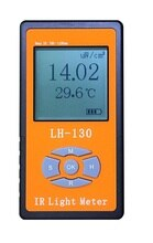 적외선 광 irradiance 전력계 테스터 radiometer led 광도 햇빛 원격 제어 투과율 차단