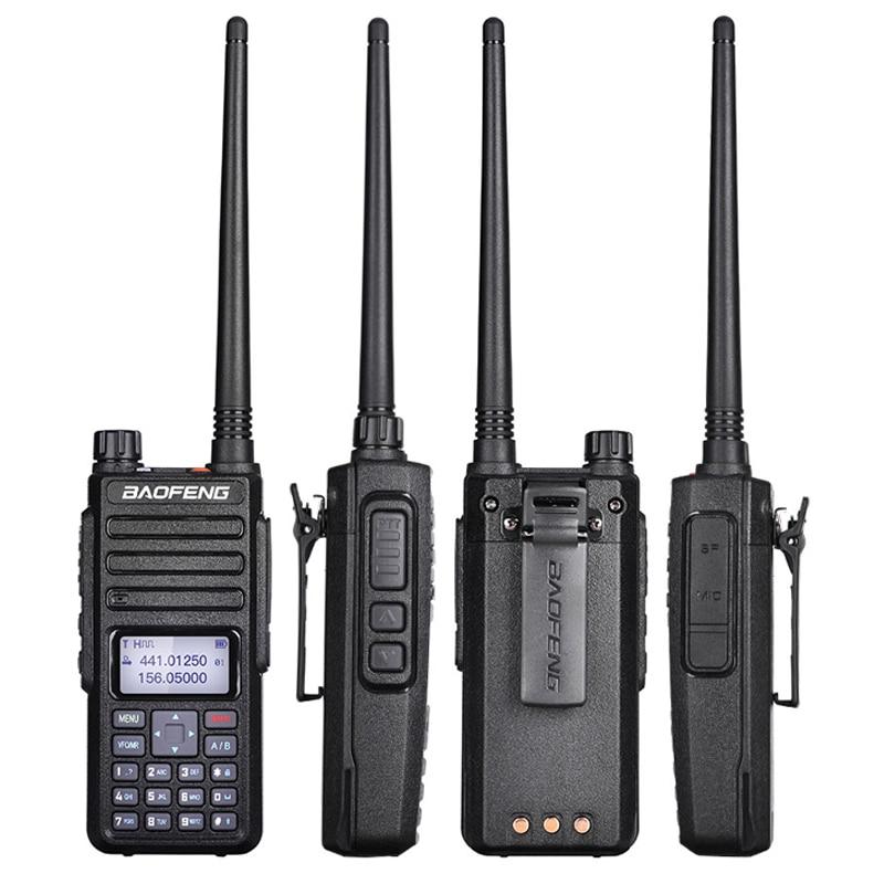 2019 Factory Price Baofeng DM-1801 Walkie Talkie DMR Digital Dual Band Two Way Radio Dual Time Slot  DMR Tier1 Tier2 Tier II