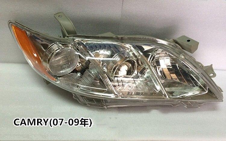 Conjunto de Faros eOsuns para Toyota CAMRY 2007-2009 ACV40 USA, 2 uds