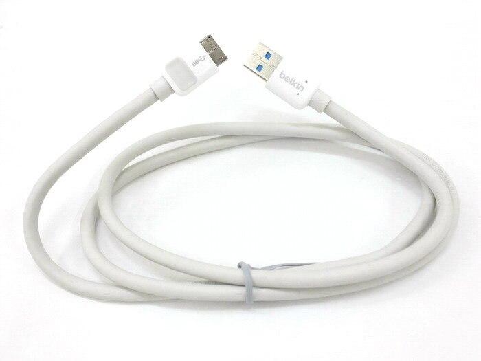 Cable de enlace de datos Micro USB 3,0 de conexión genuina F2CU009yw1M-APL...
