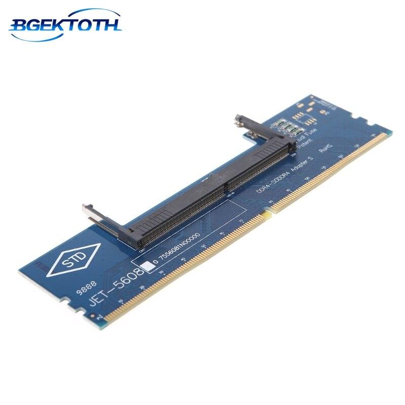 Ноутбук DDR4 RAM к настольному адаптеру карты памяти тестер SO DIMM к DDR4 конвертер май-11