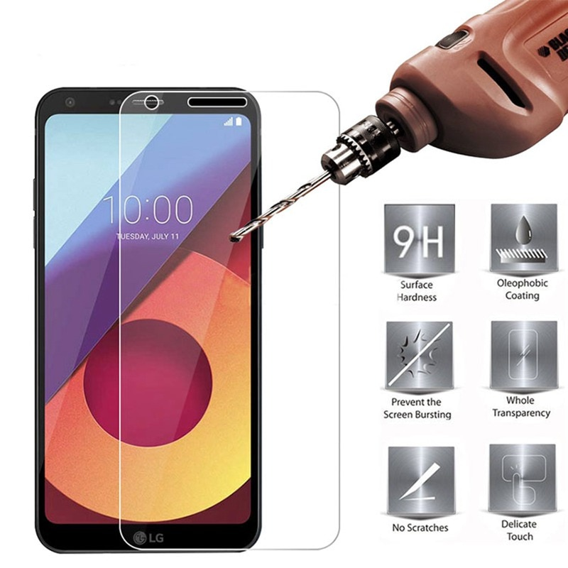 For LG Q6a M700 9H Tempered Glass For LG Q6 Alpha Q6 M700N M700DSK M700A Q 6 Screen Protector Protec