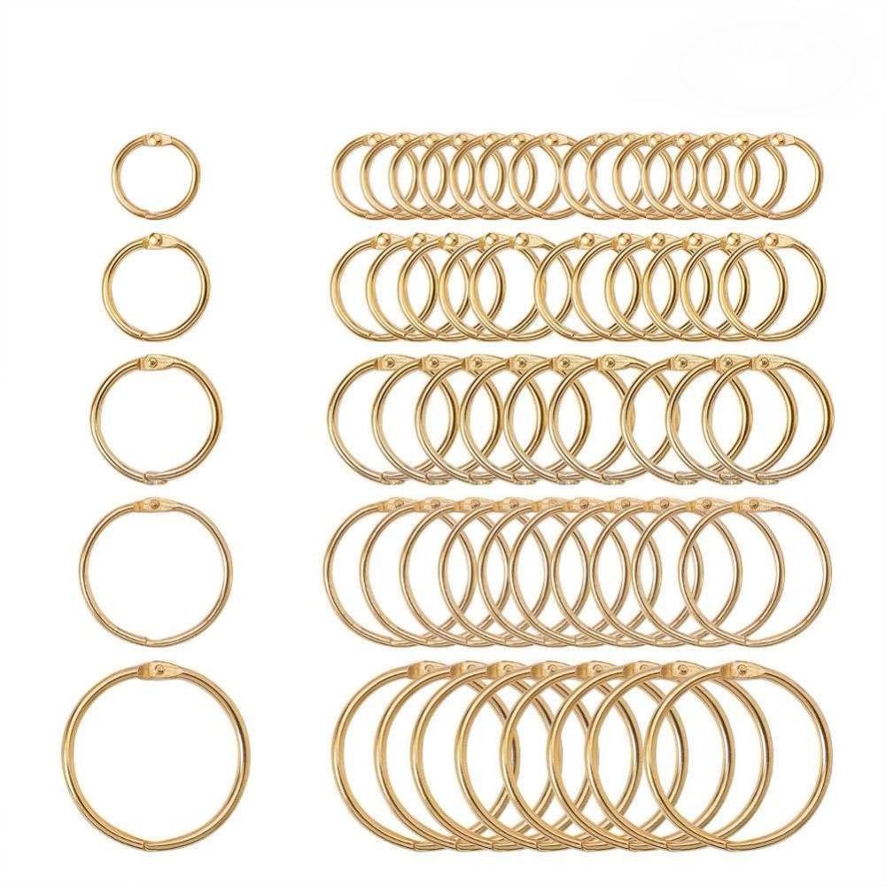 5pc-15-38-millimetri-in-metallo-dorato-sciolto-foglia-di-legante-libro-incernierato-anelli-portachiavi-album-scrapbook-craft-nero-aperto-anelli-ufficio-binder-hoops
