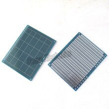 2x Enkelzijdig Prototype PCB Universal Board 7x9 cm PCB Universal Experiment Matrix Printplaat